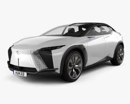 Lexus LF-Z Electrified 2021 3D model