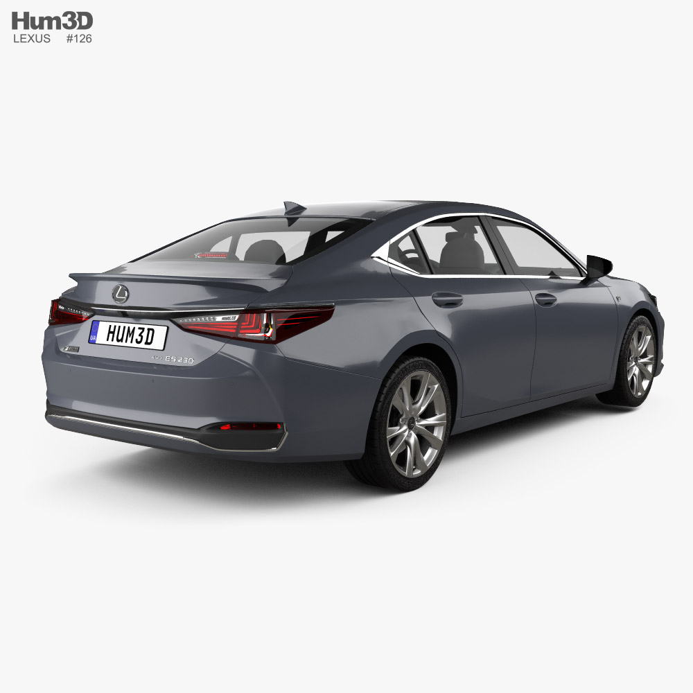 Lexus ES 2021 3d model