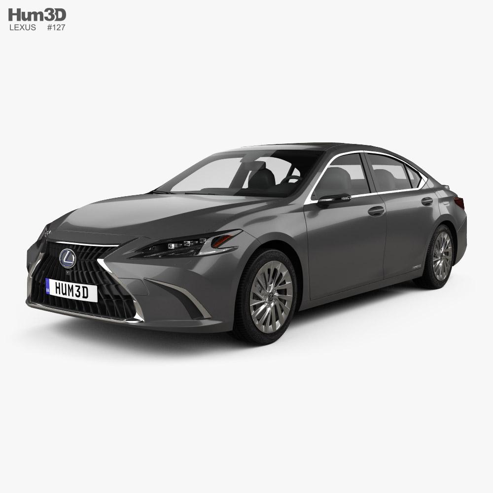 Lexus ES hybrid 2021 3D model