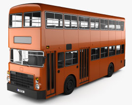 Leyland Victory II Bus 1978 3Dモデル
