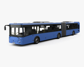 3D model of LiAZ 6213-65 Bus 2018