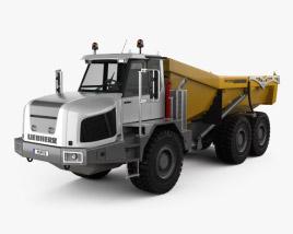 3D model of Liebherr TA 230 Litronic Dump Truck 2010