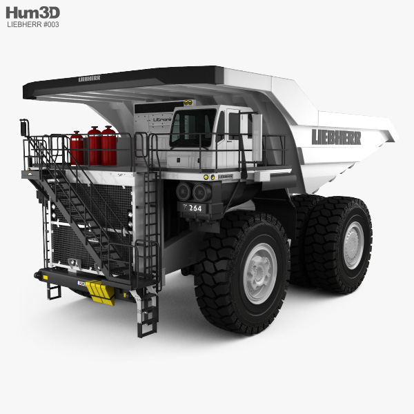 Liebherr T 264 Dump Truck 2012 3D model