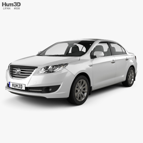 3D model of Lifan 720 2013