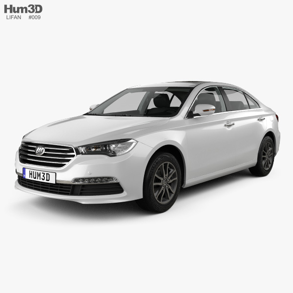 Lifan 820 with HQ interior 2015 3D model