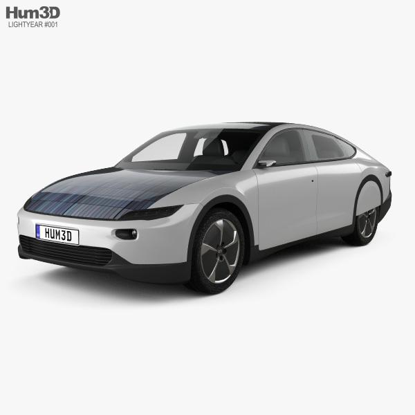 Lightyear One 2020 3D model