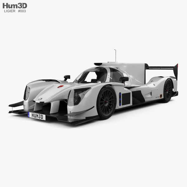 3D model of Ligier JSP217 2017