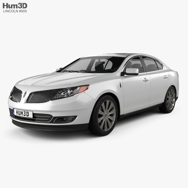 Lincoln MKS 2013 3D model