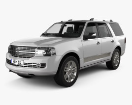 3D model of Lincoln Navigator (U326) 2012