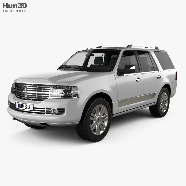 Lincoln Navigator (U326) 2012 3D model
