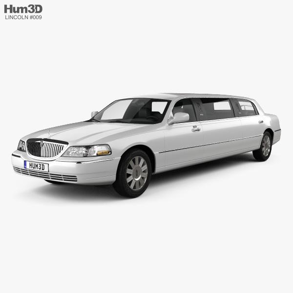 Lincoln Town Car Limousine 2011 3D model