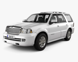 3D model of Lincoln Navigator (U228) 2003