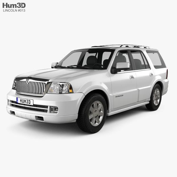 Lincoln Navigator (U228) 2003 3D model