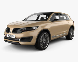 3D model of Lincoln MKX 2014