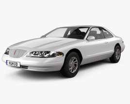 3D model of Lincoln Mark 1998
