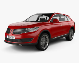 3D model of Lincoln MKX 2016