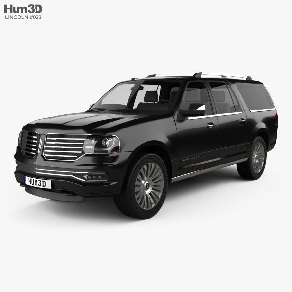 Lincoln Navigator L 2014 3D model
