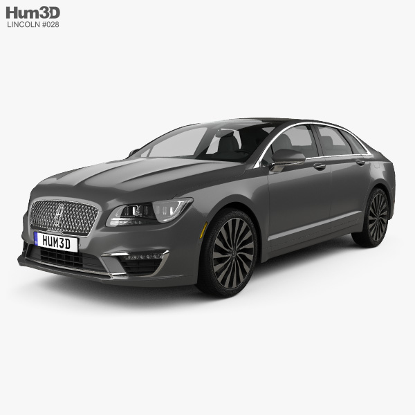 3D model of Lincoln MKZ 2017