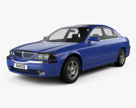 3D model of Lincoln LS 1999