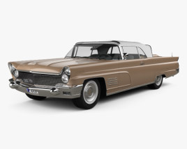 3D model of Lincoln Continental Mark V 1960