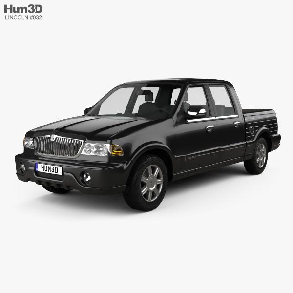 Lincoln Blackwood 2001 3D model