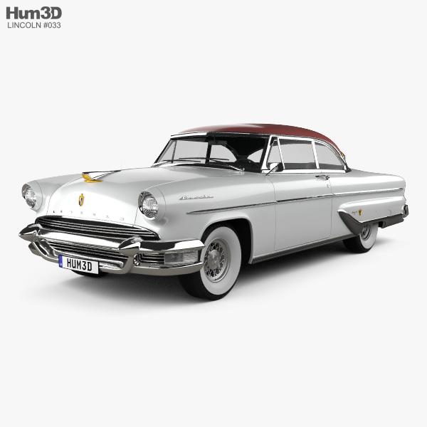 Lincoln Capri Hardtop Coupe 1955 3D model