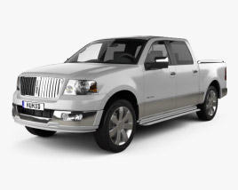 3D model of Lincoln Mark LT 2005