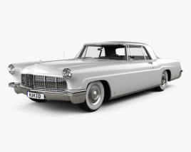 3D model of Lincoln Continental Mark II 1956