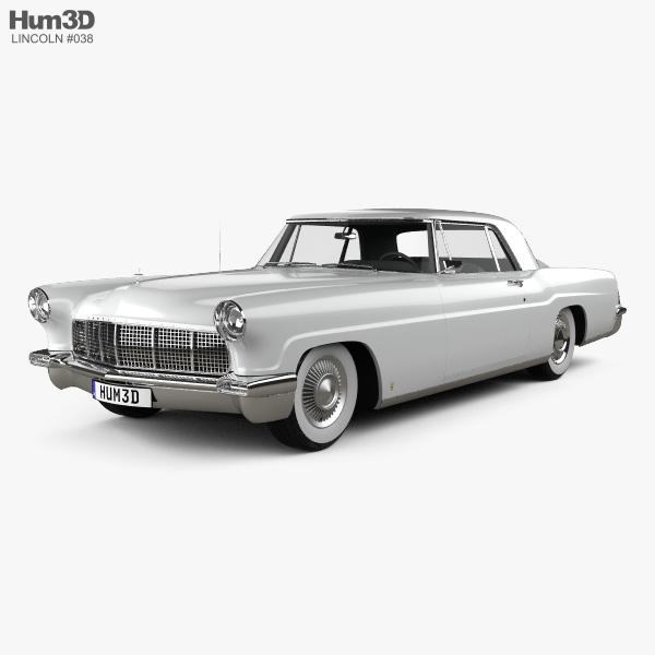 Lincoln Continental Mark II 1956 3D model