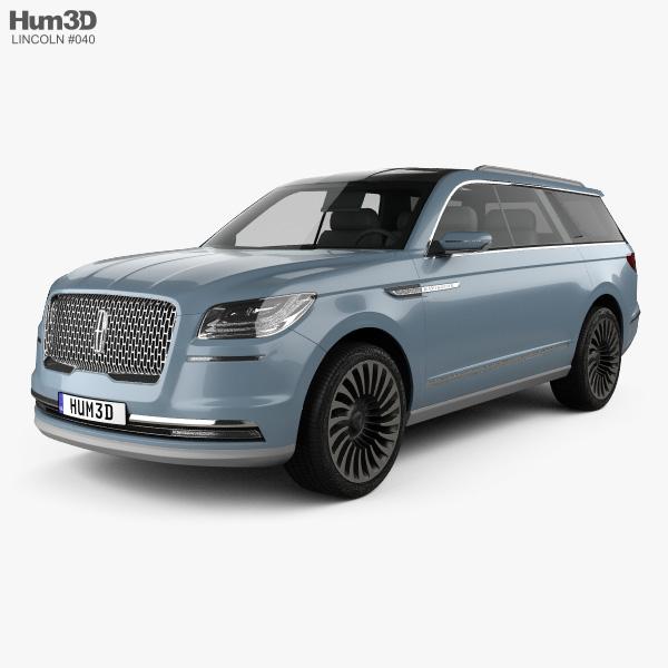 Lincoln Navigator concept 2016 3D model