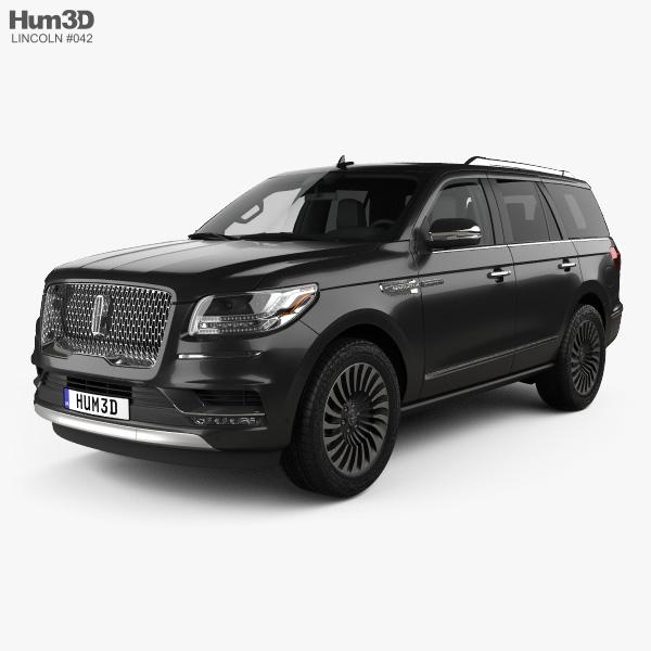 Lincoln Navigator Black Label 2017 3D model