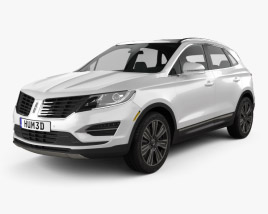 3D model of Lincoln MKC Black Label 2017