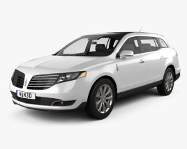 3D model of Lincoln MKT 2017
