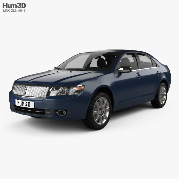 Lincoln Zephyr 2006 3D model