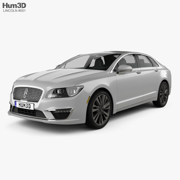 3D model of Lincoln MKZ Reserve 2017
