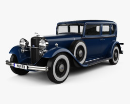 3D model of Lincoln KB Limousine 1932