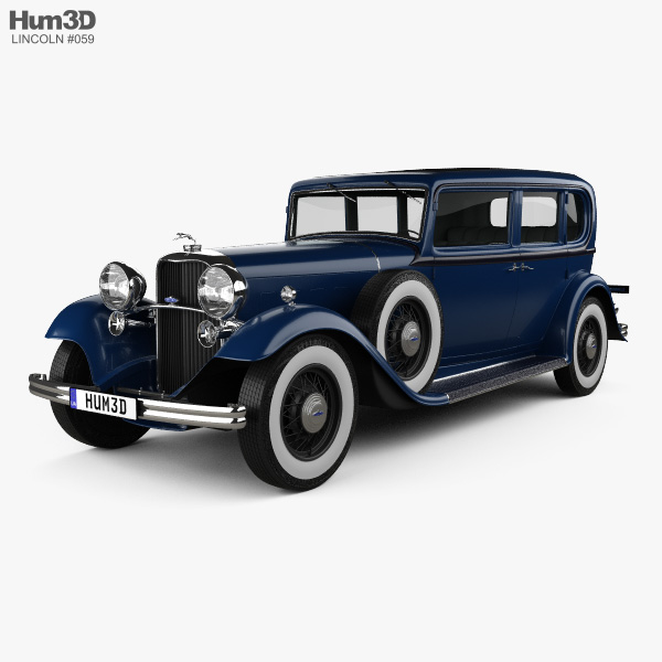 Lincoln KB Limousine 1932 3D model