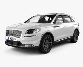 Lincoln Nautilus 2021 3D model