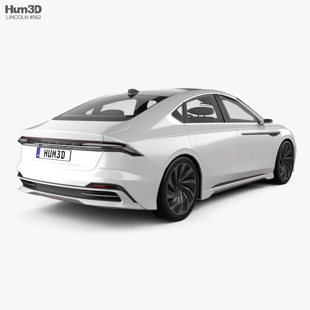 Lincoln Zephyr Reflection 2021 3d model