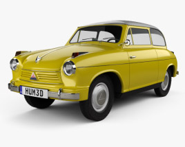 3D model of Lloyd LP 600 1955