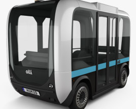 3D model of Local Motors Olli Bus 2016