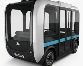 Local Motors Olli Bus 2016 3D model