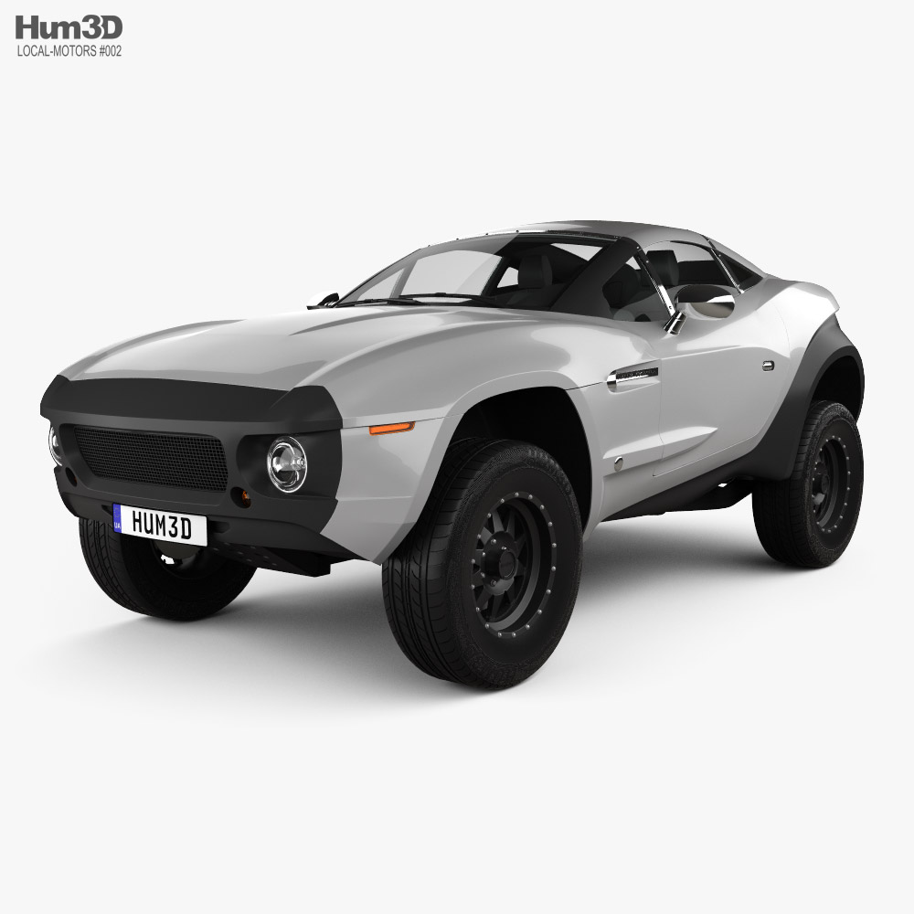 Local Motors Rally Fighter 2010 3d model