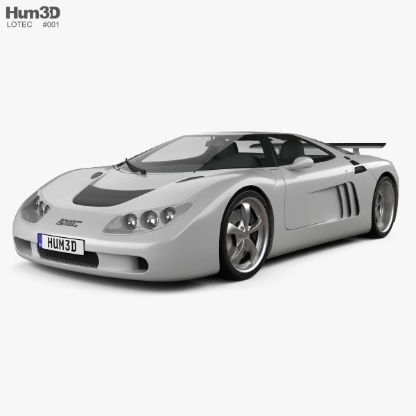 3D model of Lotec Sirius 2001