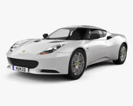 3D model of Lotus Evora S 2011