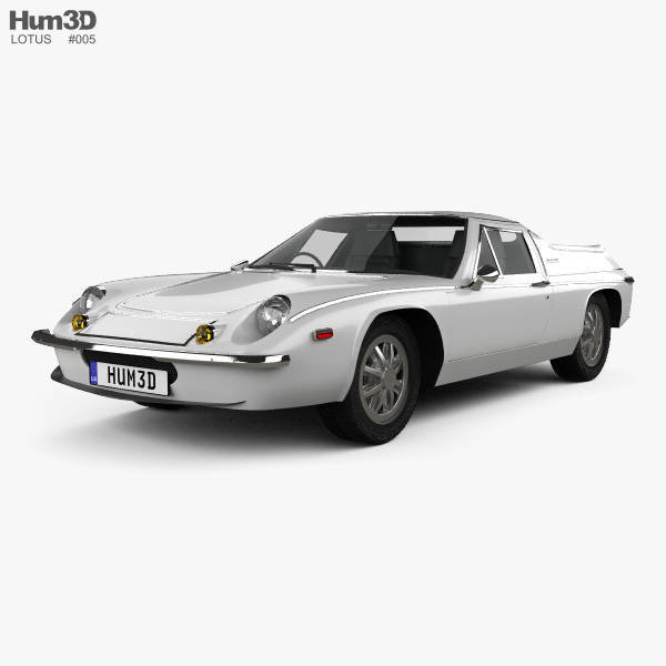 Lotus Europa 1973 3D model
