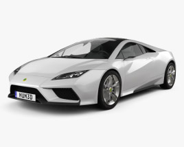 3D model of Lotus Esprit 2010
