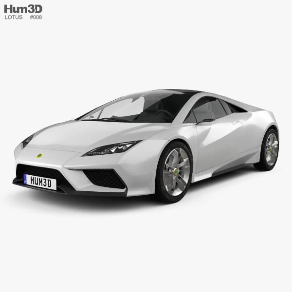 Lotus Esprit 2010 3D model