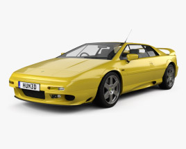 3D model of Lotus Esprit 1996
