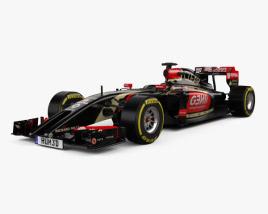 3D model of Lotus E22 2014